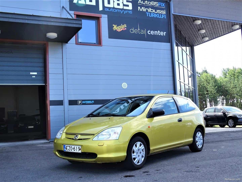 Honda Civic 1.4i S 5d * RAHOITUS VAIKKA MAKSUHÄIRIÖ * JUURI KATSASTETTU * 2X AVAIN