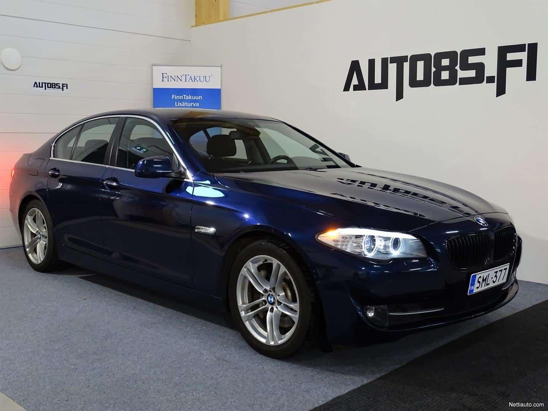 BMW 528 i Sport A F10 Sedan * RAHOITUS 0e KÄSIRAHALLA * NAVI * RATTIVAIHTEET * XENON * TUTKAT * VAKKARI * PENKINLÄMMITTIMET *