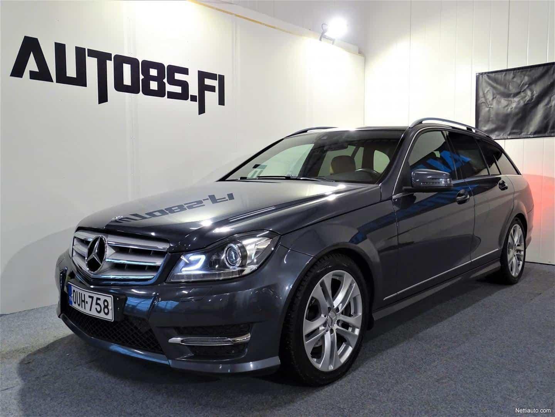 Mercedes-Benz C 220 CDI BE T 4Matic A Premium Business AMG * RAHOITUS 0e KÄSIRAHALLA * ILS VALOT * MUISTIPENKIT * SÄHKÖRATTI * NAVI