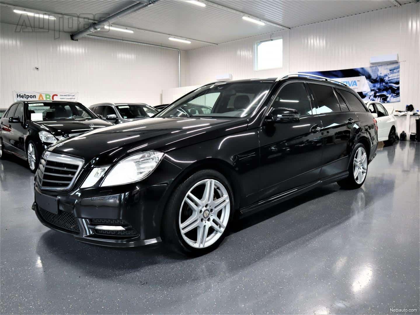 Mercedes-Benz E 350 CDI AMG-Styling Aut. * RAHOITUS 0e KÄSIRAHALLA * MUSTA SISÄKATTO * XENON * TUTKAT * CLIMATEPENKIT YMS