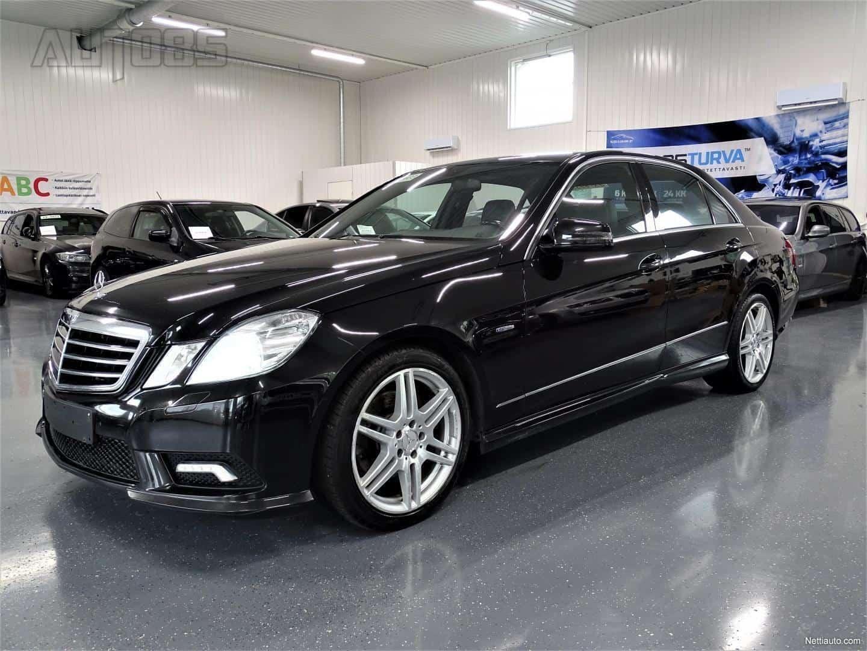 Mercedes-Benz E 220 CDI BlueEFFICIENCY AMG-Styling * RAHOITUS 0e KÄSIRAHALLA * ALCANTARA * XENON * CRUISE * ILMASTOINTI YMS