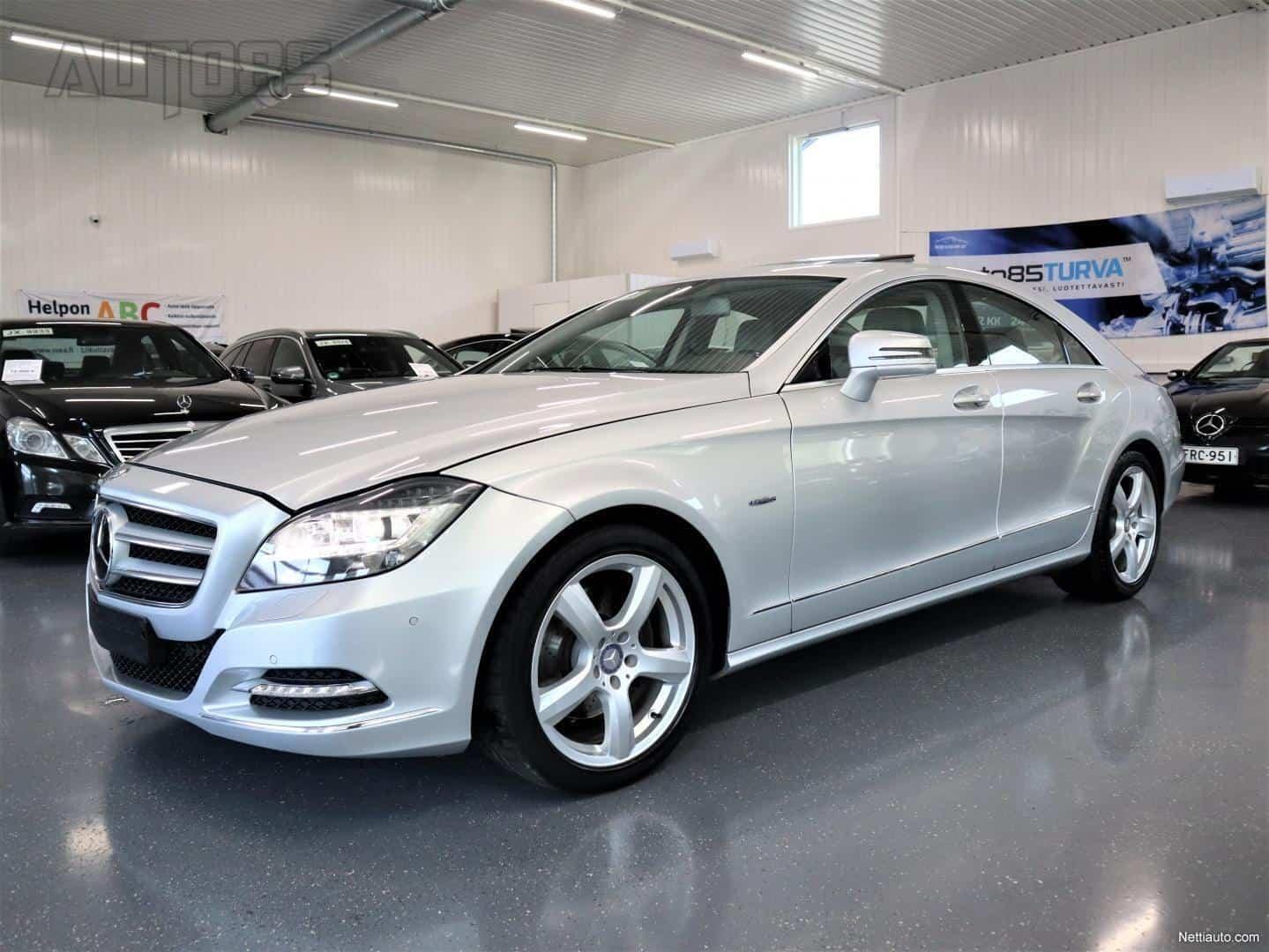 Mercedes-Benz CLS 350 CDI BlueEfficiency Aut * RAHOITUS 0e KÄSIRAHALLA * NAHAT * KLUUKKU * KAISTAVAHTI * ILS * TUTKAT * DISTRONIC+ YMS