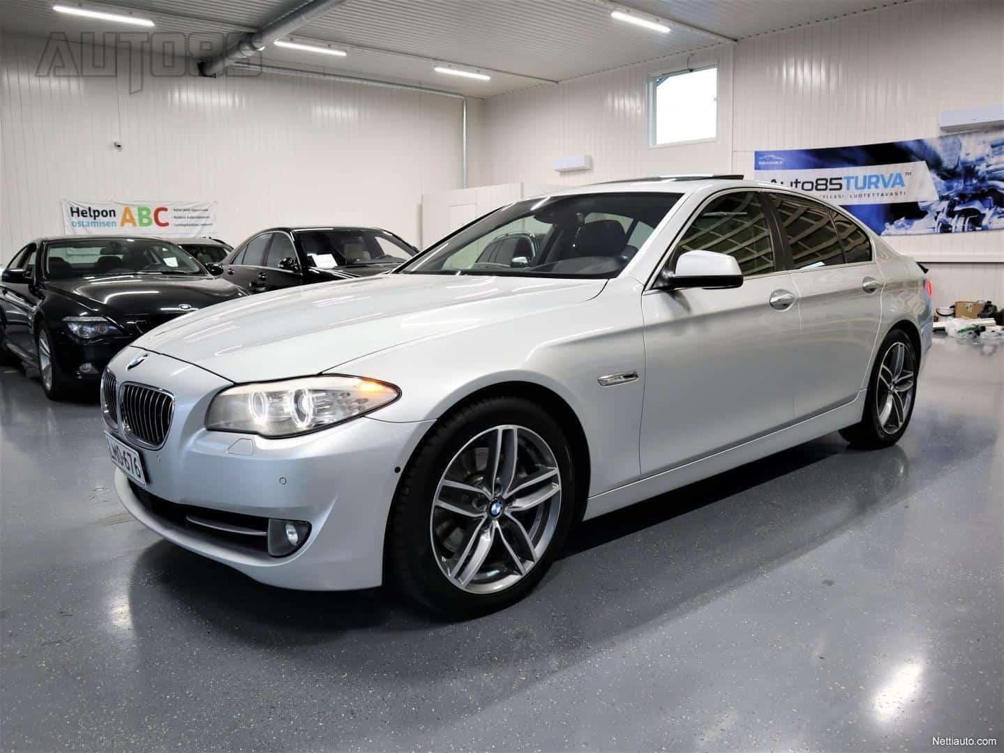 BMW 535 dA xDrive Sedan * RAHOITUS 0e KÄSIRAHALLA * HUIPPUVARUSTELTU * YÖNÄKÖ * 360 KAMERAT * HUD * IMUOVET * NAHAT YMS