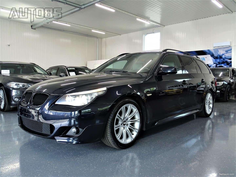 BMW 535 dA M-Sport LCI Touring * RAHOITUS 0e KÄSIRAHALLA * NAVI * HIFIT * NAHAT * HUD * CRUISE * XENON * SÄHKÖKONTTI YMS