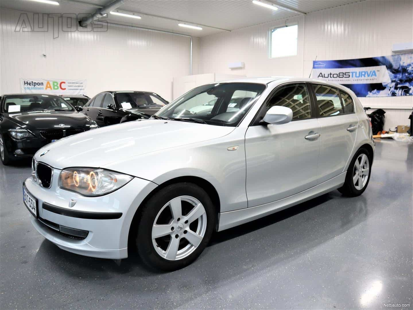 BMW 118 d 5d * RAHOITUS 0e KÄSIRAHALLA * NAHAT * XENON * CRUISE * KOUKKU * 2X RENKAAT * PERUSSIISTI KÄYTTIS